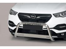 Big Bar U Opel Grandland X 2018+ Stainless Steel W/EC