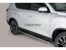 Side Steps Ssangyong Rexton 2018+ Stainless Steel GPO