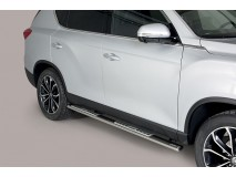 Side Steps Ssangyong Rexton 2018+ Stainless Steel DSP