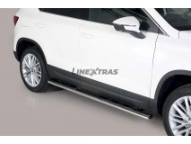 Side Steps Seat Ateca 2018+ Stainless Steel GPO