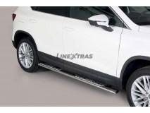 Estribos Seat Ateca 2018+ Inox DSP