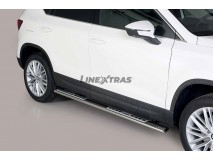Side Steps Seat Ateca 2018+ Stainless Steel DSP