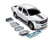 Full Underbody Kit Protection 6mm Aluminium Isuzu D-Max 2012+ Rival