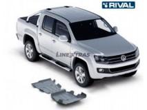 Full Underbody Kit Protection 6mm W/O Fuel Tank Protection Aluminium VW Amarok 2.0 TDI 10-17 Rival