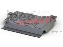 Transfer Case Skid Plate 6mm Aluminium Renault Alaskan Rival