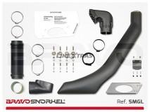 Snorkel Mercedes-Benz Classe G W460/461/463 Lado Esquerdo Bravo