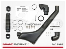 Snorkel Nissan Patrol Y61 98-04 Bravo