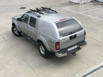 Hard-Top Nissan Navara D22 02-05 W/O Windows Linextras (Primary)