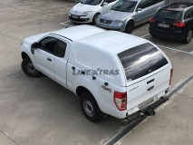 Hard-Top Ford Ranger Extra Cabina 2016+ S/ Ventanas Linextras