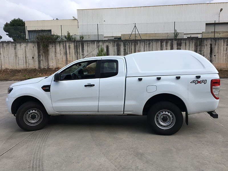 Hard-Top Ford Ranger Freestyle Cab 2016+ W/O Windows Linextras
