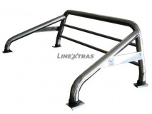 ROLL-BAR C/PROT. VIDRO INOX 63mm