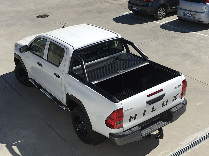 Top Roll Toyota Hilux Revo 2016+ DC Black Mountain Top