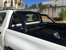 Roll-Bar Stainless Steel Black Toyota Hilux Revo 2016+ Mountain Top