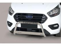 Big Bar U Ford Transit Custom L1 2018+ Stainless Steel W/EC