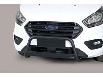 Big Bar U Ford Transit Custom L1 2018+ Stainless Steel Black W/EC