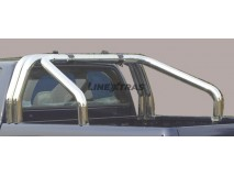 Double Roll-Bar Ssangyong Musso 2018+ Stainless Steel