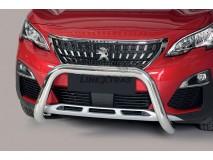 Big Bar U Peugeot 3008 2016+ Stainless Steel 76MM W/EC