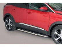 Side Steps Peugeot 3008 2016+ Stainless Steel W/ Platform