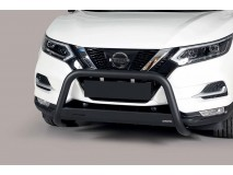 Big Bar U Nissan Qashqai 2014+ Stainless Steel Black W/ EC