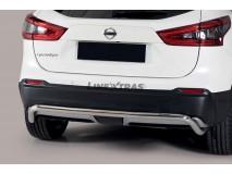 Protección Trasera Nissan Qashqai 2017+ Inox 50MM