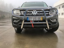 Complete Bull Bar VW Amarok 2010+ Stainless Steel 60MM