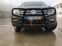 BULL BAR COMPLETE BLACK VW AMAROK