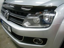 Bonnet Guard VW Amarok 10-16 Dark Smoke